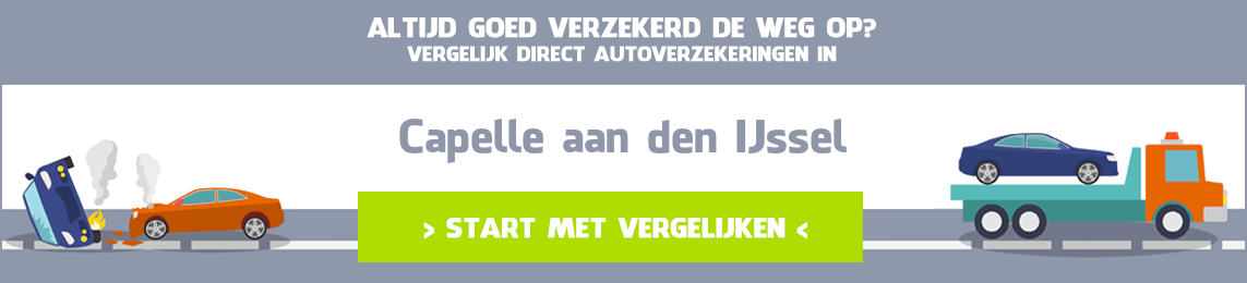 autoverzekering Capelle aan den IJssel