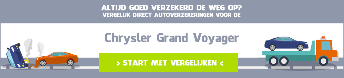 autoverzekering Chrysler Grand Voyager
