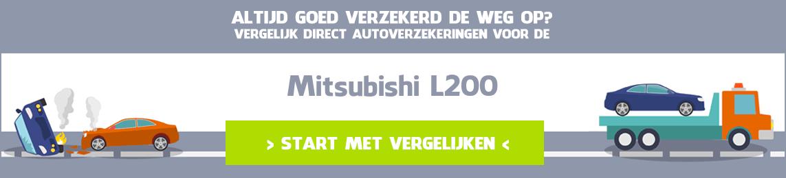 autoverzekering Mitsubishi L200